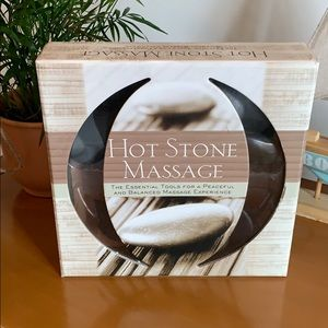 Hot Stone Massage Gift Set - New in Box